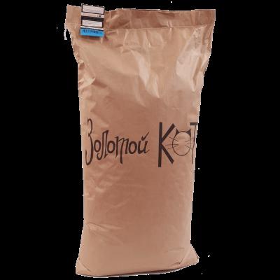 Купить Золотой кот Наполнитель кукурузный для животных, (мешок) 10 кг с доставкой по Москве за 580 руб. рублей в зоомагазине Panda Zoo